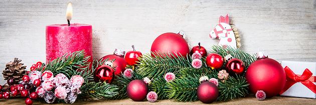 Deko für die Weihnachtstage