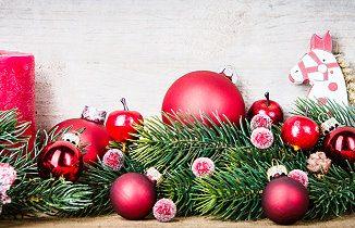 Weihnachtsdeko für den Weihnachtsbaum