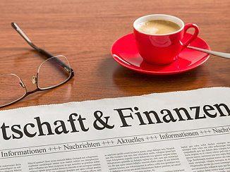 Zeitung zum Thema Finanzen