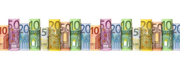 Geldscheine für Ferienzuschüsse