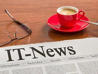 Zeitung mit IT-News