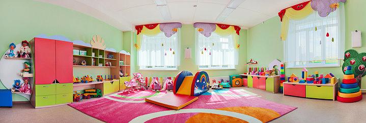 Zimmer in einer Kita