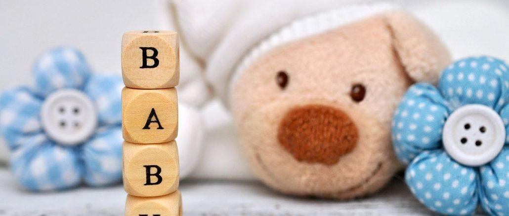 Das Wort Baby