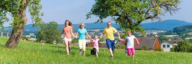 Abwechslungsreiche Bewegung für Familien