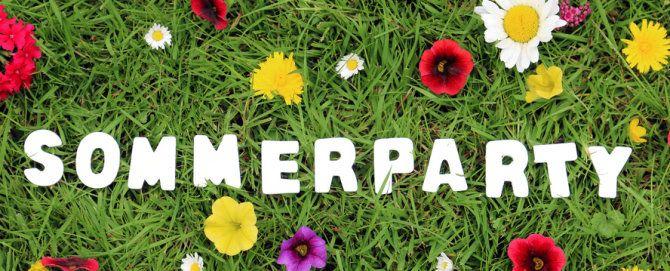 sommerparty für kinder - tipps für essen, spiele, Einladung