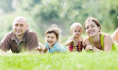 Familienfreizeit im Grünen
