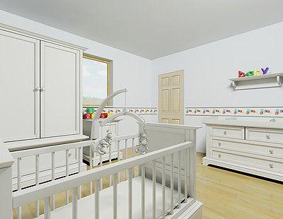 Babyzimmer gestalten neutral  Foto: Babyzimmer neutral gestalten