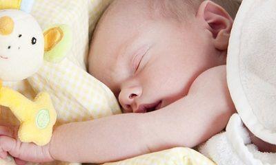 Bild vom schlafenden Baby