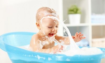 Badezusätze zum Babys baden