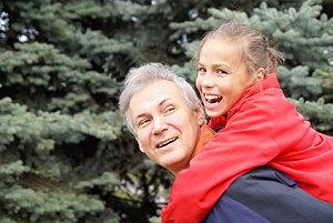 Ältere Väter Senioren